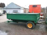 Fraser farm tipping trailer 10x6 no vat