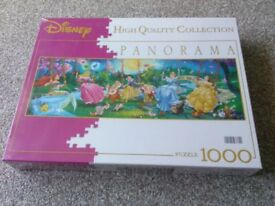 1000 piece Disney Princess jigsaw not opened