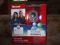 Boxed, excellent condition Microsoft webcab