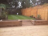 PERFECT MOWING! LANDSCAPES. THE TURFING, PAVING, DRIVWAY, SLABBING, FENCING, AND DECKING SPECIAlISTS