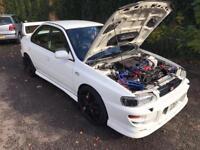 1996 SUBARU IMPREZA WRX 300bhp turbo modified