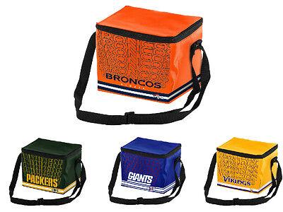 NFL Football Team Logo 6 Pack Impact Cooler Lunch Bag - Pick -