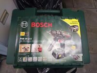 Bosch cordless drill storage box in v good condition. See pics. Drill holder and deep stick.