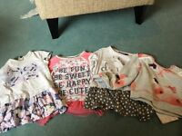 Girls tops age 3 - 4 all immaculate condition job lot x 4
