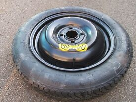 Space-saver spare wheel