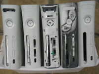 5 X XBOX 360 CONSOLES / FAULTY / UNTESTED