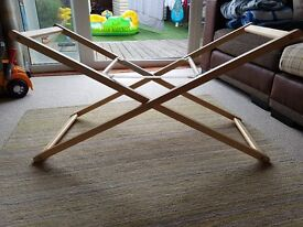 Wooden Mothercare Moses Basket Stand