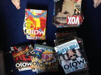 87 issues of mojo magazine + 50 various music magazines