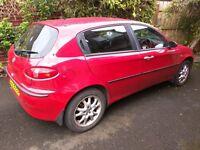 Alfa Romeo 147 Red Petrol (Parts)