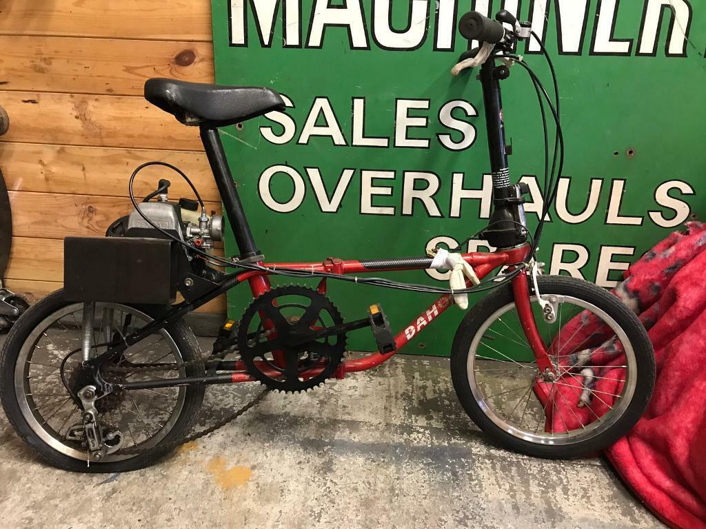 Dahon vintage fold up bicycle. (Motorised)