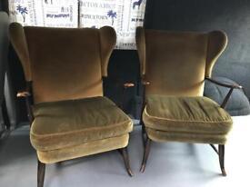 2 ercol chairs
