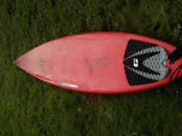 6'0 Surftech M10 lightweight performance shortboard