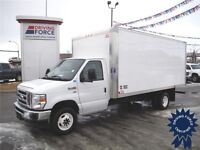 2014 Ford E-450 16 ft Cube Van, Only 13,597 KMs - CVIP Inspected