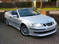 Saab 93 Aero 2.0 turbo convertible. Stunning condition. V quick + reliable. Fsh. £2995 ono.