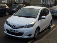 MUST SEE!! PRICE REDUCED!! TOYOTA YARIS HATCHBACK 2012 1.33 VVT-i TR 5 DOORS - ONL £5299