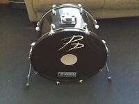 "Black Performance Percussion 22"" Kick Drum / Bass Drum"