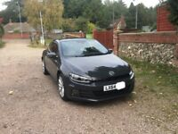 VW Scirocco 1.4L TSI BlueTech Motion 64 plate with new facelift
