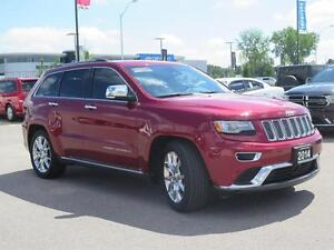 2014 Jeep Grand Cherokee Summit! 4x4! IV Hitch! London Ontario image 3