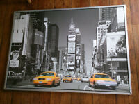 Large Canvas print - New York - Mounted on metal frame - £20 ONO
