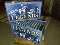 Legends 12 CD boxed collection. Includes music from over many decades. Cds still not unwrapped.