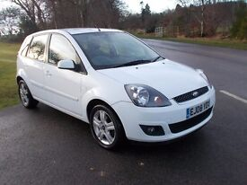 2008 08 FORD FIESTA 1.4 TDCI ZETEC 5 DOOR 106000 MILES MOT JANUARY 2018