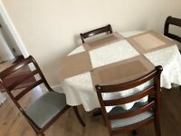 GONE GONE GONE (FREE dark wood dining table and 4 chairs)