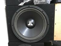 "JL AUDIO 15"" BASS BOX"