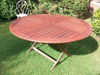 Garden Patio Tropical Hardwood Table and Chairs