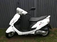 Peugeot v click 50cc Full logbook one year mot