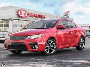 2011 Kia Forte Koup 2.4L SX LOW MILEAGE FULLY LOADED !!