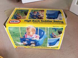 Little Tikes Toddler High back swing seat