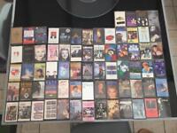 Joblot of collector's Cassttee Tapes
