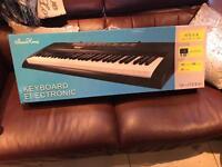 61 key led keyboard