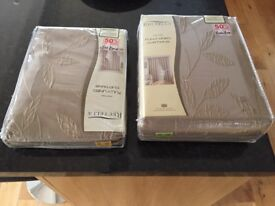 2 pairs of curtains brand new