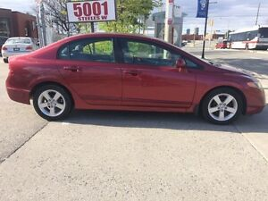 2007 Honda Civic 4DOOR,173K,SAFETY+3YEARS WARRANTY INCLUDED