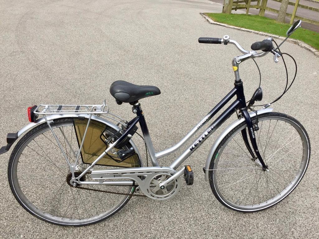 Kettler Windsor Ladies 49cm Frame Bicycle With 7 Speed Hub Gears