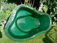 Fiberglass pond
