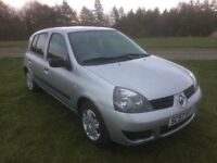 Renault Clio 1.2 Campus 5dr Low mileage, great opportunity
