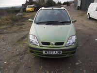 Renault Scenic 1.6 2000 6 months MOT