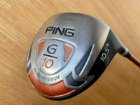 PING G10 DRIVER 10.5 Degree REG SHAFT - £95 - CASH ON COLLECTION ONLY