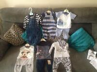 Baby boy bundle newborn to 6 months