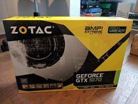 *NEW* Zotac AMP Extreme GTX 1070 - Sealed Box - PLUS FREE Zalman Mouse