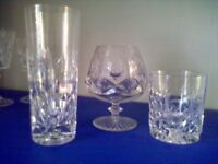 Royal Brierly crystal glass collection