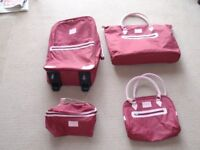 BRAND NEW Wine Red 4 piece Luggage Set