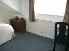 single furnished attic room £60 per week inc all bills near city centre drewry lane