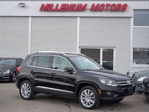 2014 Volkswagen Tiguan AWD HIGHLINE/ LEATHER / SUNROOF/ ONLY 45,