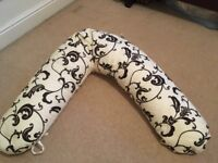 Breastfeeding and Nursing Pillow and support cushion