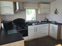 Luxury Caravan Lodge in Seton Sands