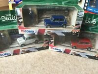 Italian Job Corgi Car Collection