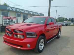 2015 Ram 1500 Sport - Leather - Sunroof - Navigation
